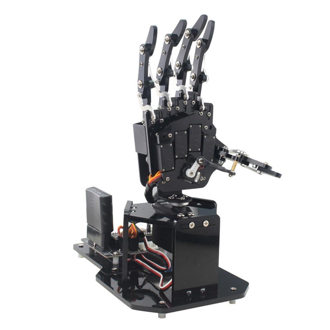 New Hot 1Pcs Open Source Robot Palm Bionic Mechanical Palm Sense Maker For Arduino