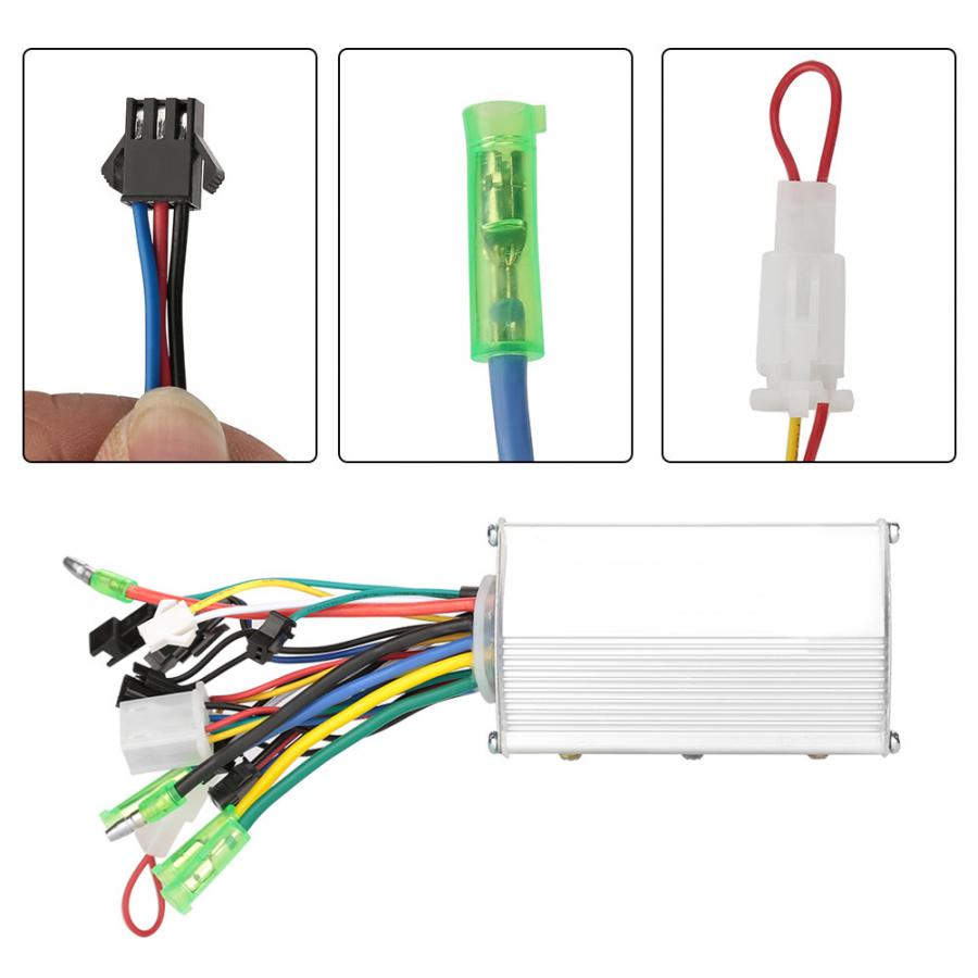 24V 350W 13A Electric Bicycle Motor E-bike Scooter Brushless DC Motor Controller Durable Electric Bike Scooter Motor Controller