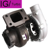 New GT30 GT3037 GT3076 Turbo Turbocharger T3 Flange Water Oil Upgrade Journal bearing for 3.0 5.0L 6 8 cyl 0.6 0.82
