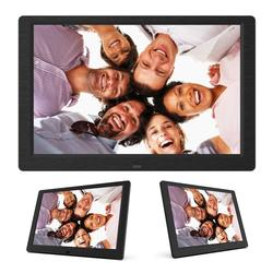 10 Inch Digital Photo Frame LED Backlight HD 1280x800 Screen Electronic Album Picture Music Alarm Clock MP3 MP4 Movie Player