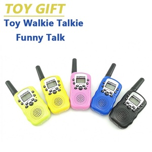 Image 5 - 2pcs Wholesale Children Mini Kids UHF Walkie Talkie BF T3 Baofeng FRS Two Way Radio Comunicador T3 Handy Talkie Hf Transceiver