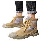 Round Toe Boots Men ...