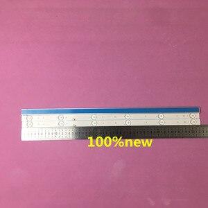 Image 1 - 3 sztuk/zestaw listwa oświetleniowa led GC275D06 ZC14F 03 303GC275031 GC275D06 ZC21F 03 303GC275031 dla 28PHF2056/T3 1 sztuk = 6led