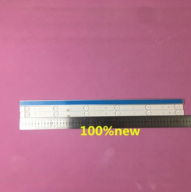 3pcs/set LED Backlight strip GC275D06 ZC14F 03 303GC275031  GC275D06 ZC21F 03  303GC275031  for 28PHF2056/T3 1pcs=6led