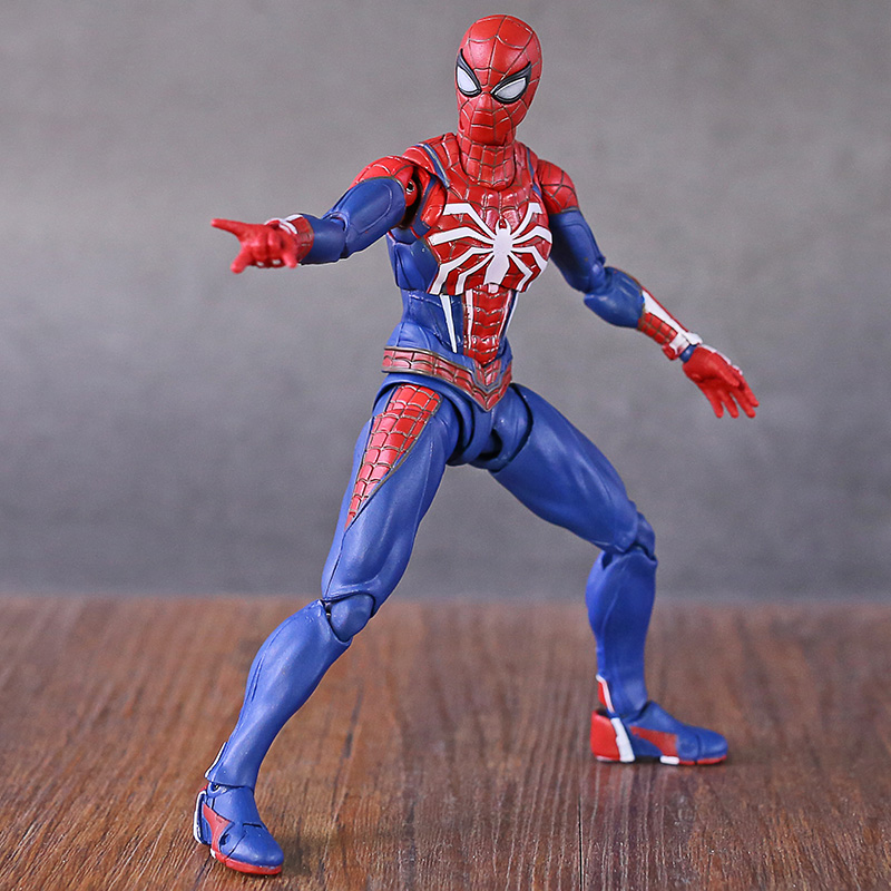 Image 2 - Marvel Legends Avengers Gameverse Spiderman Tom Holland Far From Home with Stand Action FigureAction & Toy Figures   -
