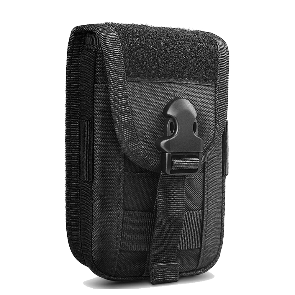 Tactical Phone Pouch 1000D Molle Smartphone Bag Belt Waist Bag Utility Organizer Pocket Military Carry Pack For Hunting Camping