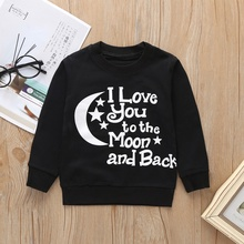 2020 Baby Clothes Kids Hoodies Letter Hooded Pullover