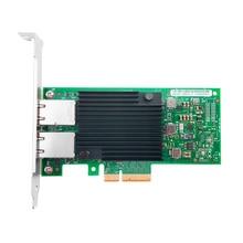 X550 T2 بكيي 3.1X8 النحاس RJ45 * 2 10G محول الشبكة مع إنتل X550