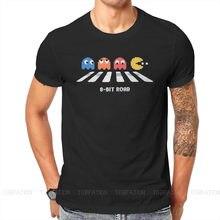 Pacman – t-shirt à col ras du cou pour homme, classique, à la mode, en coton, Harajuku, jeux rétro, été