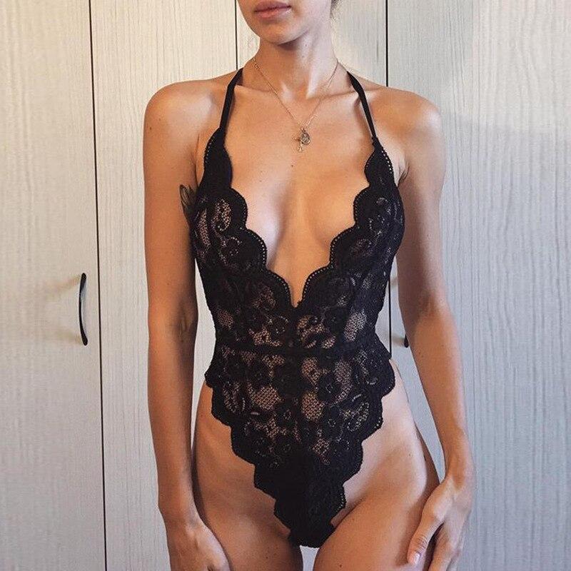 2020 Womens Lingerie Baby Doll Sexy Erotic Lingerie Womenlenceria Transparente Plus Size Lingere Women's Underwear Crotchless