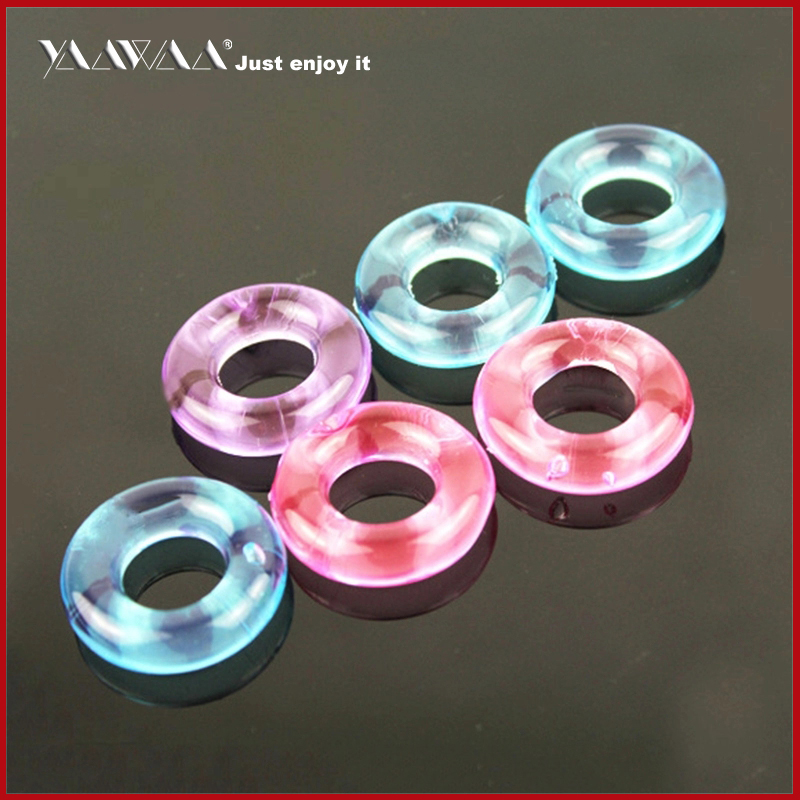 Penis Ring 5 Pcs In A Bag Silicone Time Delay Ring Men's Virginity Lock Erotic Toys For Adults Sex Toys For Man