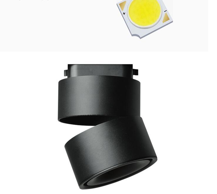 cob, teto pequeno, luz de destaque