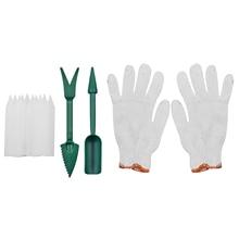 ABS Transplanting DIY Succulent Planting Garden Seeder Kit Nursery Label Sowing Home Glove Gardening Tool Plant Migration Mini
