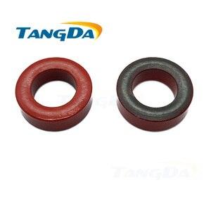 Image 1 - Inducteur de puissance de fer T80 2, T80 2, 20.3*12.7*6.35mm, filtrage des noyaux de bague en ferrite revêtue rouge/noir, 2 TANGDA Q