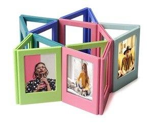 Image 3 - 10 шт. разных цветов Fujifilm Instax Mini 8 7S 25 50 70 90 liplay link мгновенная фотография 3 дюйма Магнитная Рамка