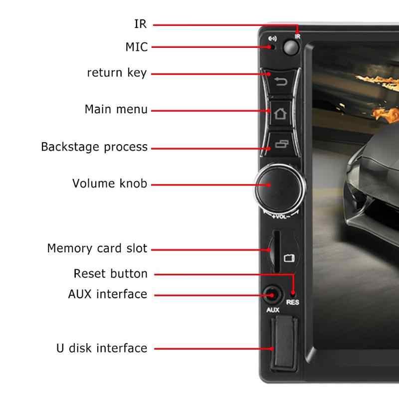 "SWM A2 2 DIN Android 8.1Car Radio Multimedia Player 7 ""Auto Radio GPS Navi Bluetooth WIFI USB Kamera Belakang Stereo video MP5 Pemain"