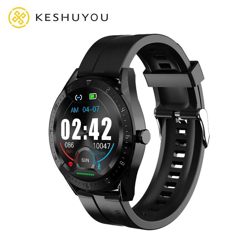 K60 1,4 круглые умные часы 2021 мужские вызовов через Bluetooth сообщений функция IP67 из водонепроницаемого материала; Сердечного ритма воспроизведе...