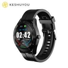 K60 1.4 round relógio inteligente 2021 homens bluetooth chamada função de mensagem ip67 à prova dip67 água feminino freqüência cardíaca música jogar relógio para huawei