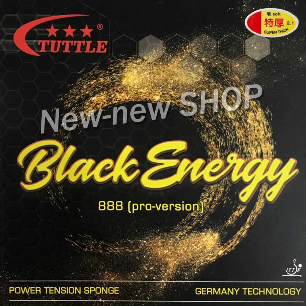 ITTF Tuttle Black Energy 888 Germany Cake Sponge 40+ Table Tennis Rubber, Ping Pong Rubber Free Shipping