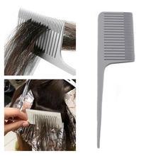 Расческа для волос vogvigo с широкими зубьями крючком и ручкой