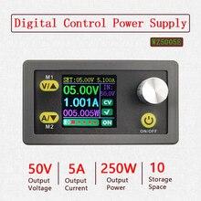 Convertisseur Buck CC CV 50V 5a, Module d'alimentation réglable, alimentation régulée en laboratoire, voltmètre, ammètre, communication
