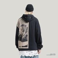 Kurt Cobain Print Hoodies Men Hip Hop Casual Punk Rock Pullover Hooded Sweatshirts Streetwear 2019 Fashion Hoodie Tops New SA 8