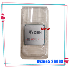 AMD procesador de CPU AMD Ryzen 5 2600X R5 2600X 3,6 GHz, seis núcleos, 12 hilos, YD260XBCM6IAF Socket AM4