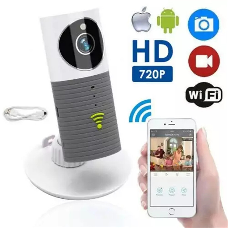 BIG SALE Baby Monitor Two Way Audio HD 720P Mini Clever Dog  Home Security WiFi  IP Camera Night Vision  Baby Sleeping Monitor