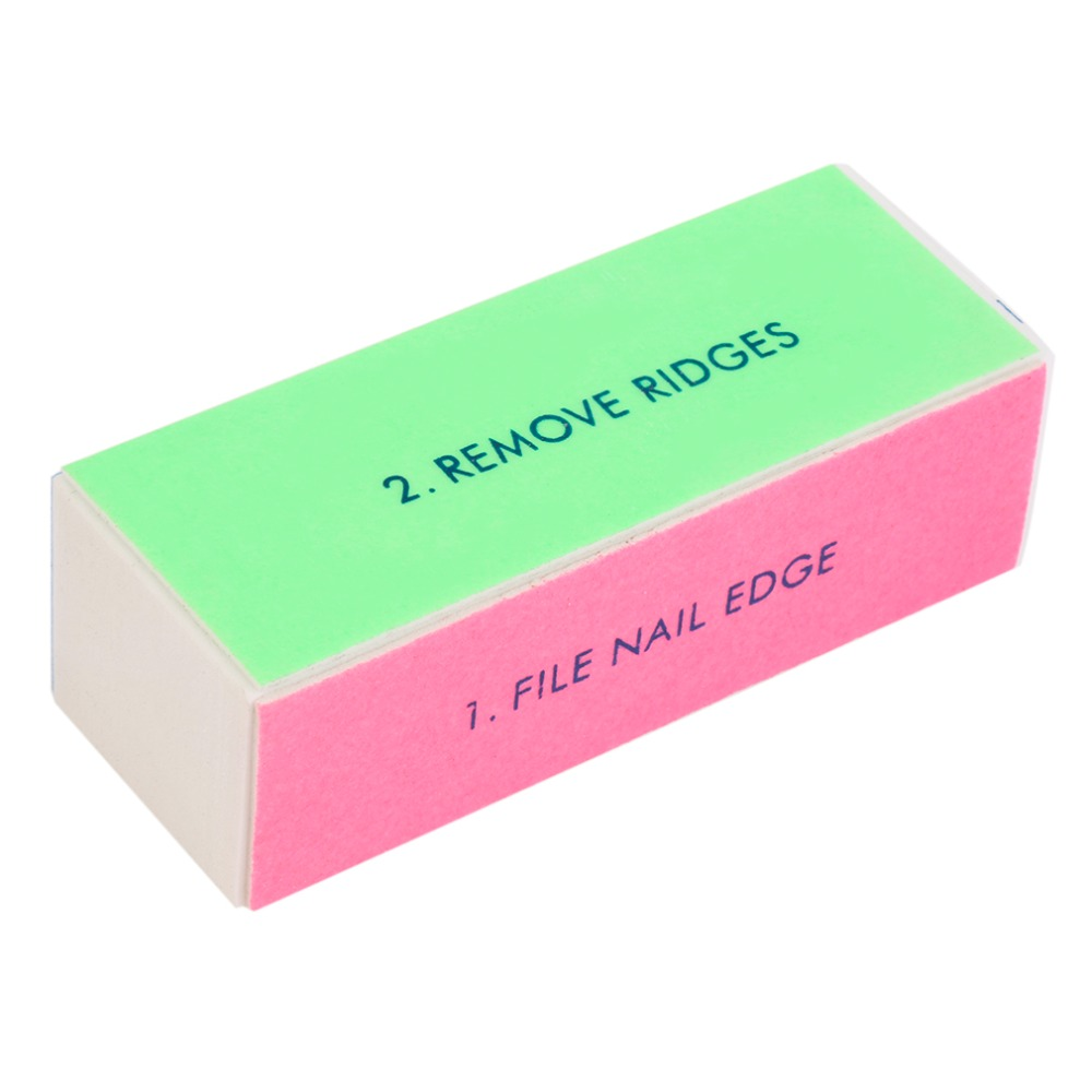 HOT Women Beauty Acrylic Nail Art Tips Buffer Polishing Sanding Block Buffer 4 Way File Salon Manicure Nail Art Tips Tools