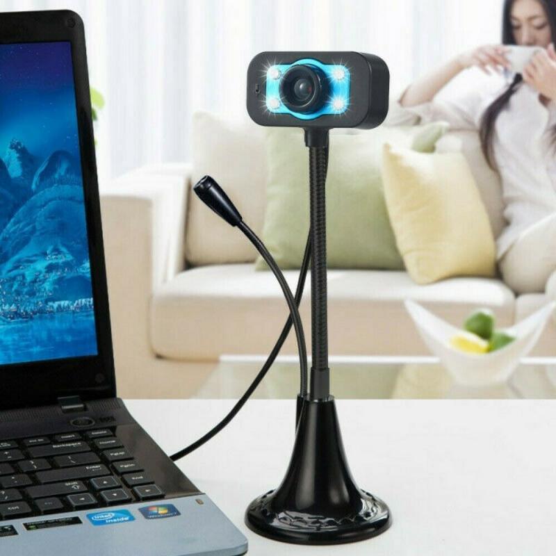 HD Webcam Built in Dual Mics Smart 1080P Web Camera USB Stream Camera For Desktop Laptops PC Game Cam For OS Windows10/8|Webcams|   - AliExpress