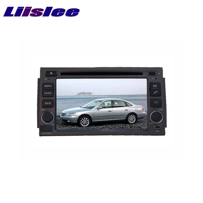 For HYUNDAI Grandeur TG Azera 2005~2011 Android 8.1 LiisLee Multimedia 4G RAM DVD GPS Audio Hi-Fi Radio Stereo Navigation NAVI