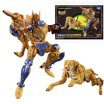 TAKARA TOMY Transformers MP34 BW Beast Wars Dinobot Cheetus Leopard Monster Panther Deformation Action Figure Collections Gift 1