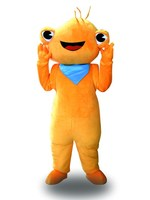 Hot Sale Classic Version golden frog Mascot Costume Adult Halloween Birthday party cartoon Apparel Cosplay Costumes