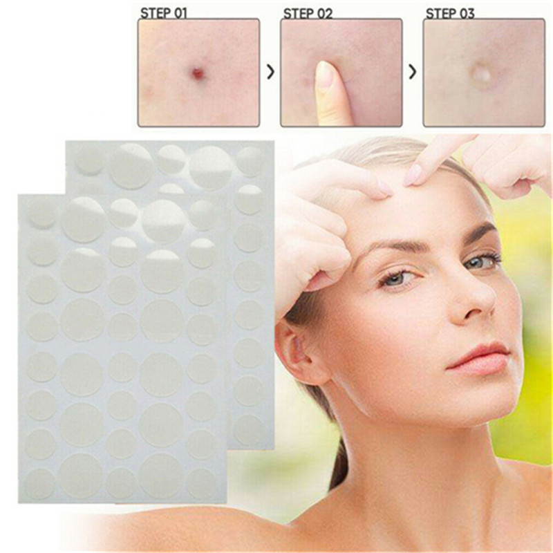 2020 Sale 36PCS Facial Acne Patch & Skin Tag Hydrocolloid Pimple Cover Tag Remover Stickers Skin Care Fast