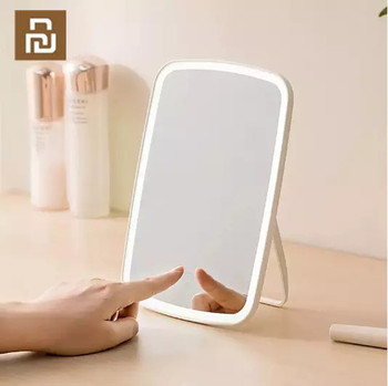 youpin Original Jordan judy Makeup Mirror with LED light Intelligent portable makeup mirror with Touch Dimmer Switch folding