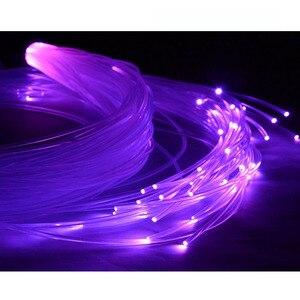 Image 4 - 6000 mt/Rolle 0,5mm durchmesser PMMA ende leuchten kunststoff opticas faser LED glasfaserkabel für LED licht motor express kostenloser versand