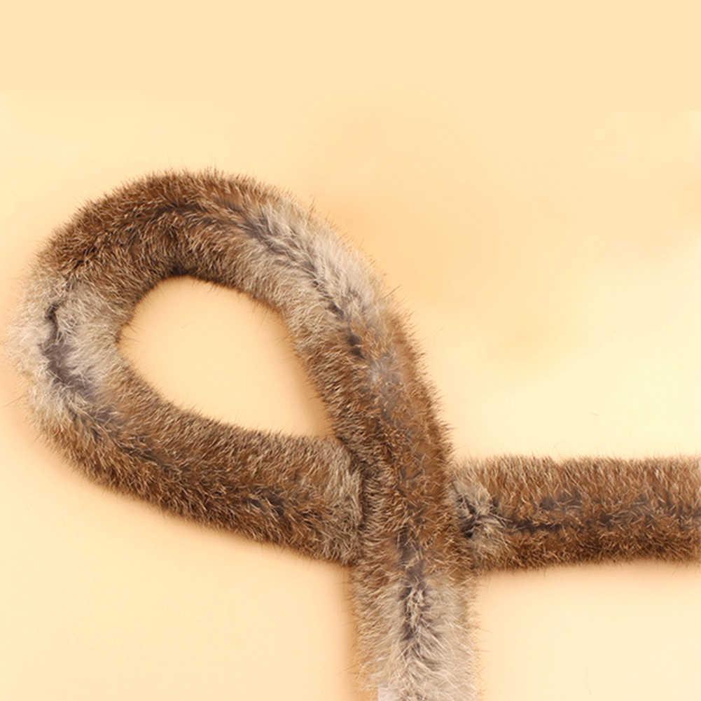 바느질 리본 테이프 모피 솜털 인공 토끼 모피 의상 자켓 트리밍 DIY 액세서리
