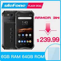 "Ulefone Rüstung 3W Robuste Smartphone Android 9.0 IP68 5,7 ""Helio P70 6G + 64G 10300mAh Zelle telefon 4G Dual SIM Handy Android"