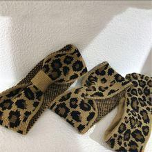 Женская повязка на голову mengjiqiao новая модная теплая вязаная