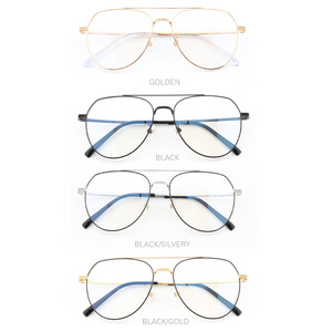 Image 4 - Pure titanium Prescription frame Pilot Mens Eyeglasses frame Ultra light  Vintage myopia glasses large titanium glasses frame