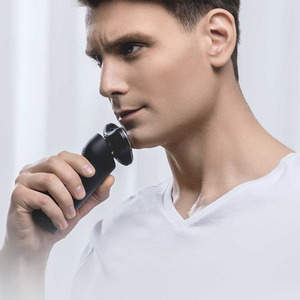 Image 3 - Xiaomi Mijia מכונת גילוח מכונת גילוח גברים בירד שיער גוזם נטענת 3D ראש יבש רטוב גילוח מכונת רחיץ כפול להב