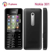 هاتف نوكيا 301 الأصلي WCDMA 3MP 2.4 واحد مزدوج الشريحة مجدد الهاتف المحمول مقفلة