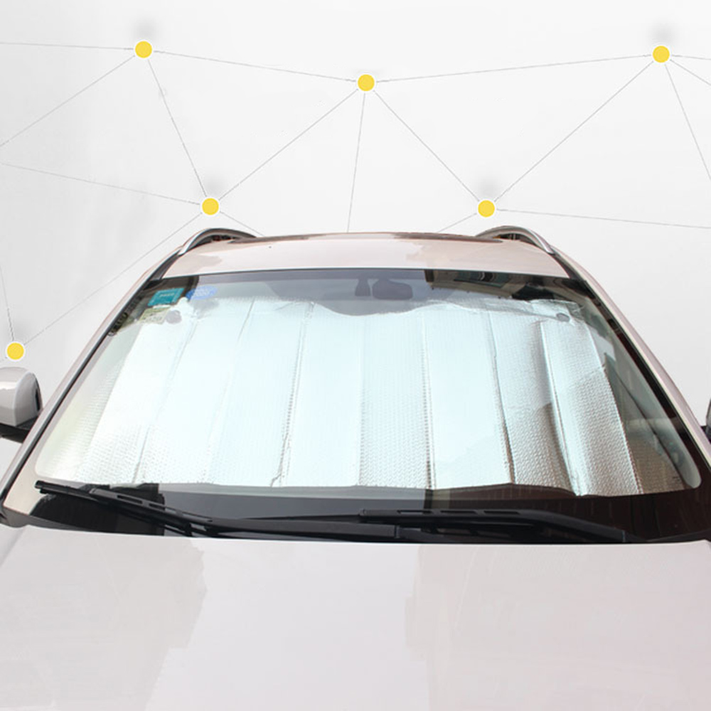 Silver-Cover Windshield Aluminum-Foil Front-Window Car-Sun-Block Heat-Insulation