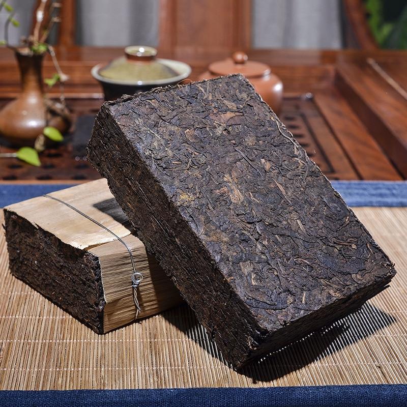 1990 ปีชาจีนยูนนานชาRipe Pu'er 500Gที่เก่าแก่ที่สุดชาPu'erบรรพบุรุษโบราณน้ำผึ้งหวานหมองคล้ำ-สีแดงpu-Erhโบรา...