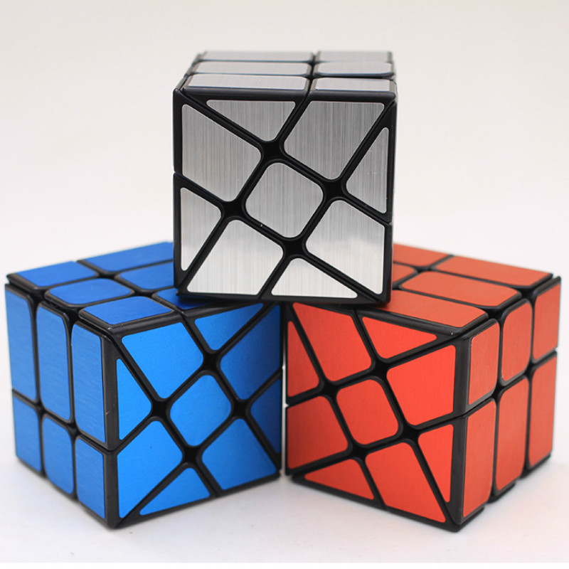 Infinity Cube Strange-shape Magic Cube 5.7CM Speed For Magic Cube Puzzle Neo Cubo Magico Sticker For Children Education Toy