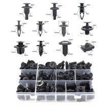 Автомобильные аксессуары для комплектов Toyota, коробка для авто, пластиковый бампер, крыло, багажник, удерживающий зажим, черный, застежка, заклепки