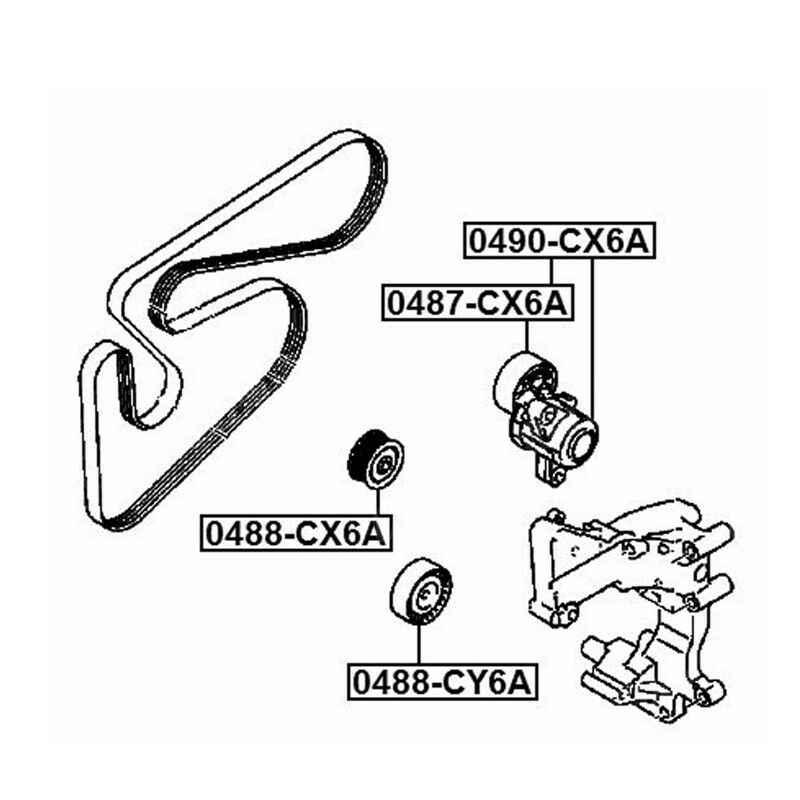 プーリーアイドラー三菱ランサーアウトランダー asx プジョー 4008 1.8 2.0 2.4 ガソリン 1341A042 1341A065