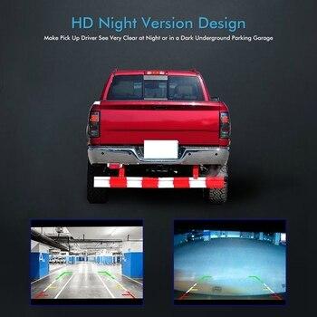 for Dodge Ram 2009-2012 Car Rover Tailgate Handle Backup Camera Reverse Reversing Rear View Camera