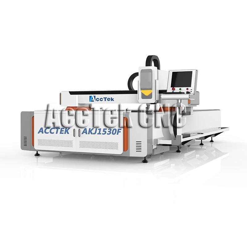 Equipo de corte por láser de fibra de corte de metal industrial de alta densidad