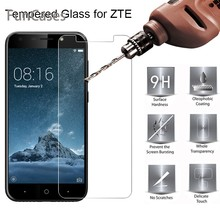 Toughed Screen Glass for ZTE Blade A2 Plus A3 A6 Tempered Glass for ZTE Blade L3 Plus L2 9H HD Hard Glass on ZTE Blade L5 Plus(China)